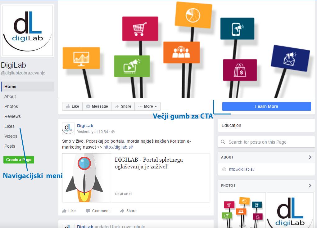 Kako izgleda prenovljen Facebook poslovni profil