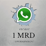 WhatsApp rekord
