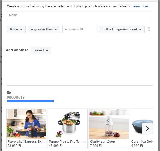 kako nastavimo prikaz izdelkov v katalogu