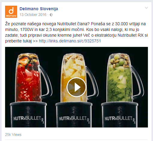 facebook umestitev za video oglas
