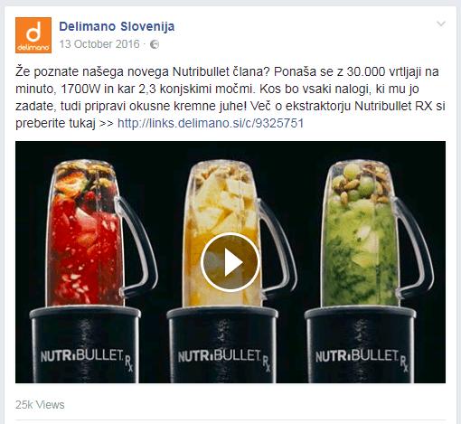 facebook umestitev za video oglas