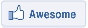facebook awesome gumb